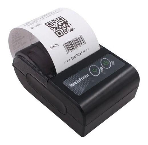 Mini Impressora Térmica Bluetooth Cupom Não Fiscal 58mm
