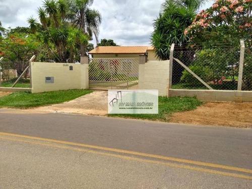 Chácara Com 2 Dormitórios À Venda, 3480 M² Por R$ 350.000 - Centro - Capela Do Alto/sp - Ch0028