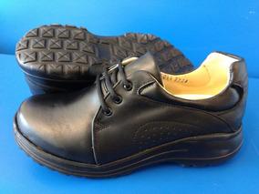 Zapatos De Confort Para Trabajo Dama Color Negro