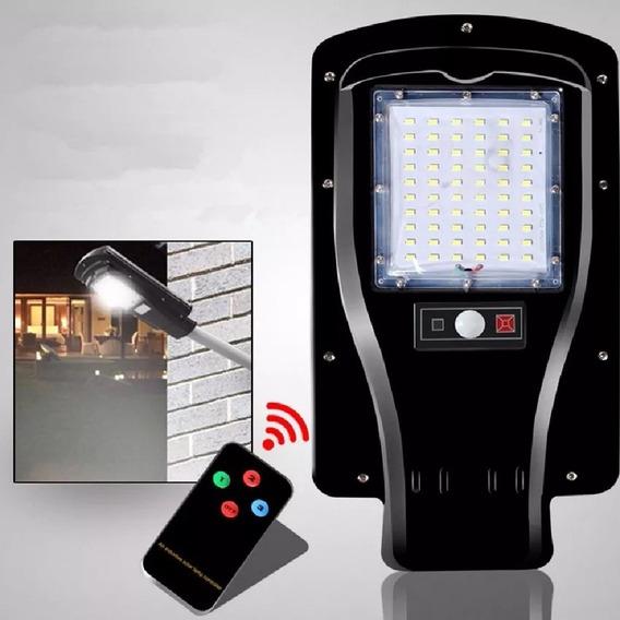 Refletor Solar Led 30w Luminaria Publica Placa Fotovoltaica