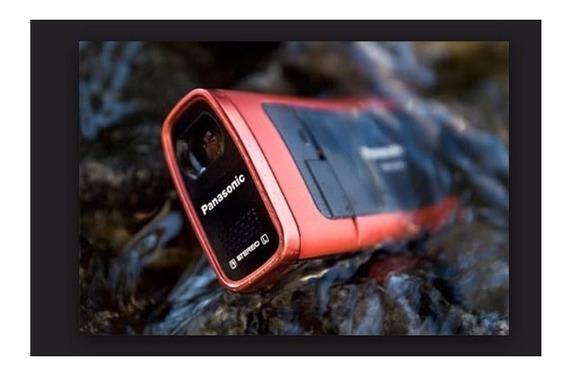 Filmadora Panasonic Sdr-sw 20 Resistente A Agua 1,2 Metros