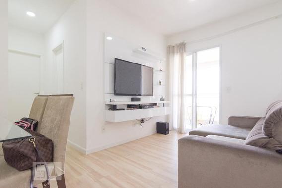 Apartamento No 25º Andar Mobiliado Com 2 Dormitórios E 2 Garagens - Id: 892944121 - 244121