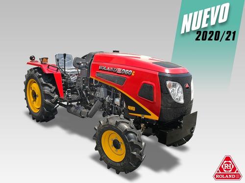 Tractor Compacto Viñatero Roland H060c 4x4 60hp