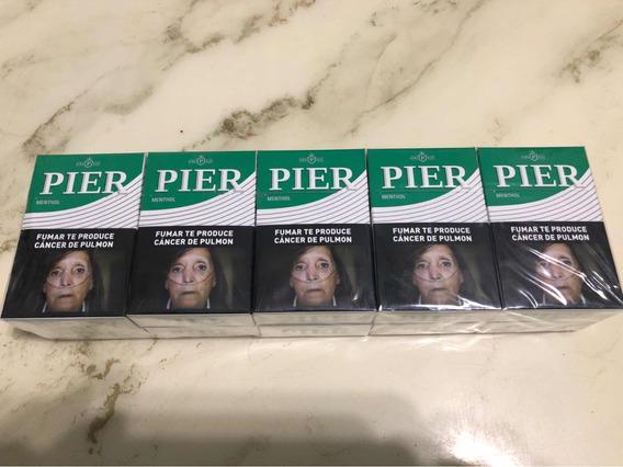 Cigarrillos Mentol Pier Pack Por 10