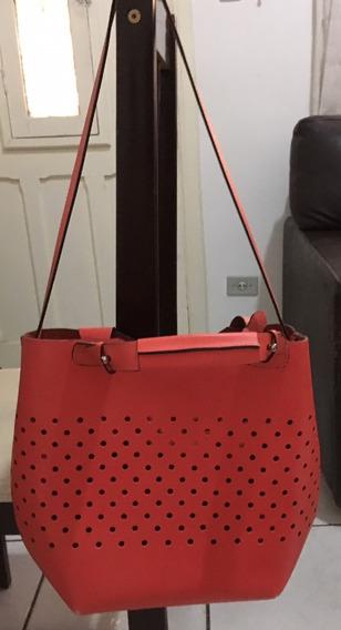 Bolsa Zara Em Couro Legítimo