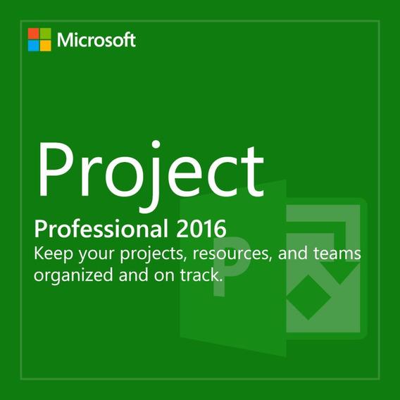 Licença Ms Project 2016 Original