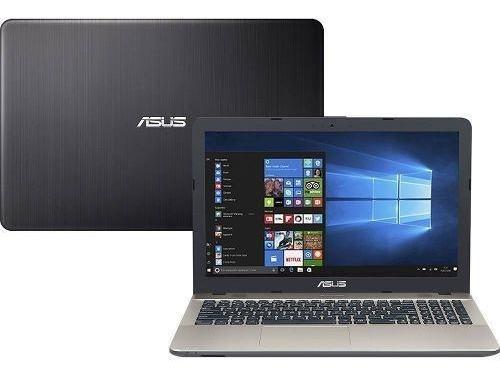 Notebook Asus X541ua-go1986t Intel Core I3 4gb 1tb W10 Preto