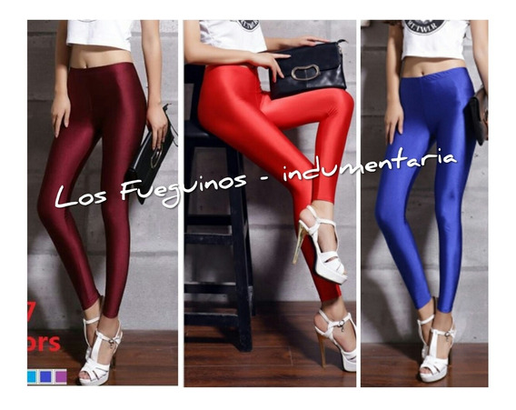 Leggins Por Mayor - Calzas Lycra X 10