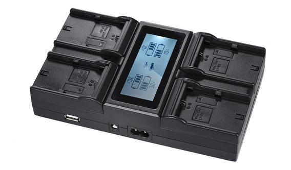 Carregador De Bateria Da Câmera Digital Andoer Lp-e6 Lp-e6n