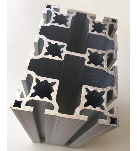 Perfil Estrutural Em Alumínio 80x120x1200mm