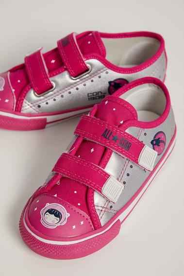 Tênis Casual Infantil Menina Converse Pink