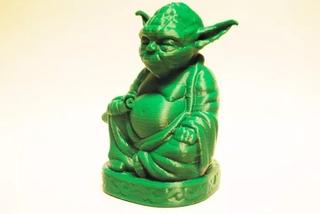 Buda Star Wars Yoda Modelo Figura Servicio Impresion 3d Bsas
