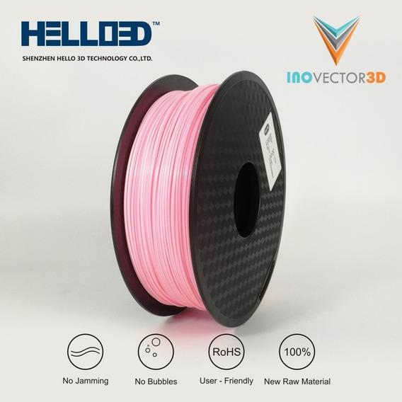 Filamento Pla Para Impressão 3d - Rosa - 1kg