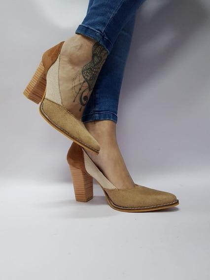 Stiletto Combinado Taco Folia Stampa Woman