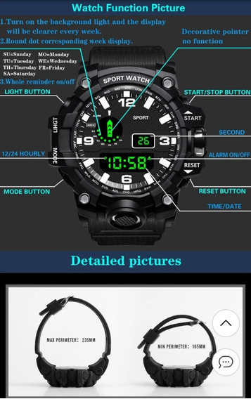 Relógio Militar 60,00