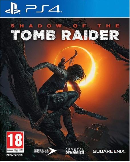 Shadow Of The Tomb Raider Ps4 Mídia Física Frete Grátis