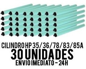 Kit 30 Cilindro Toner Cf283 85a 78a 35a 36a 1102 P1005 1120