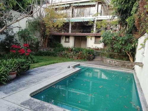 Casa Sola En Rancho Cortes / Cuernavaca - Gsi-1043-cs