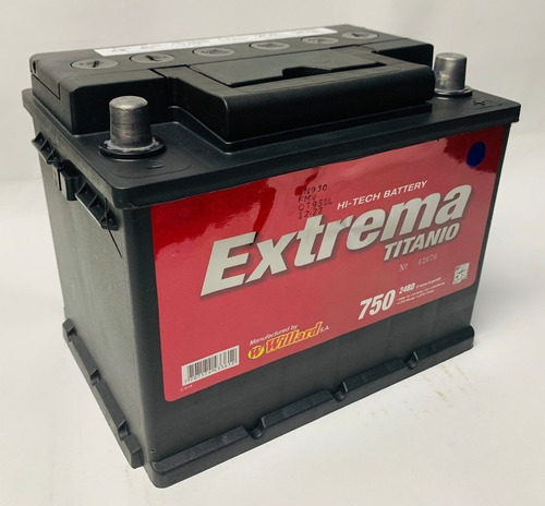 Bateria Willard Extrema 24bd 750 Chery Vanpass