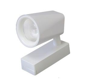 Spot Led Direcionável P/ Trilho Teto 20w Branco Quente Bivot