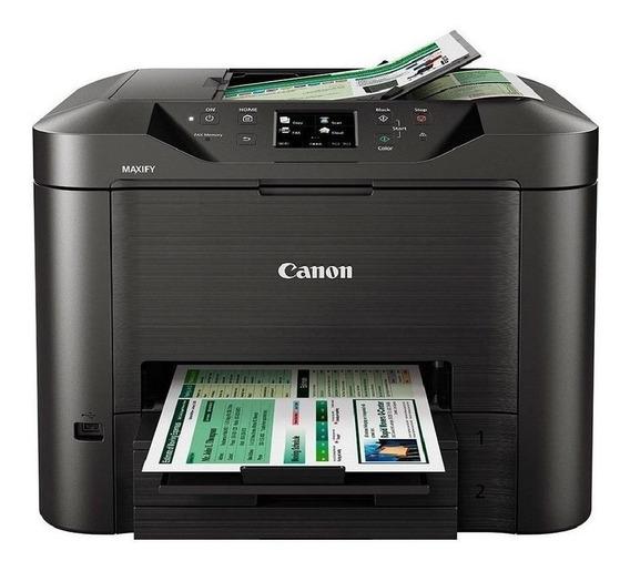 Impressora a cor multifuncional Canon Maxify MB5410 com Wi-Fi 110V/220V preta