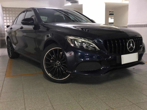 Mercedes-benz Classe C 2017 1.6 Avantgarde Turbo Flex 4p