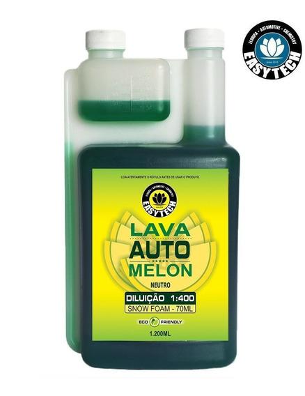 Shampoo 1:400 Melon Concentrado 1,2l Neutro Easytech Ph