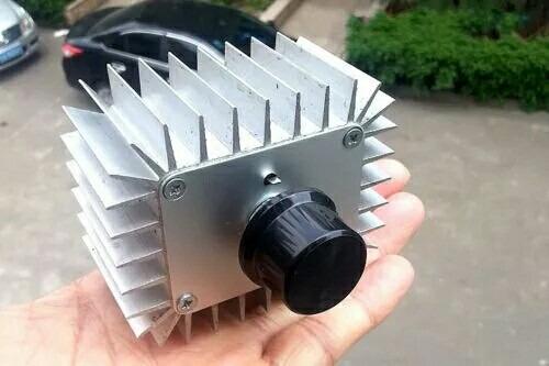 Dimeers Controlador De Velocidade Scr Voltage 5000 W 220v