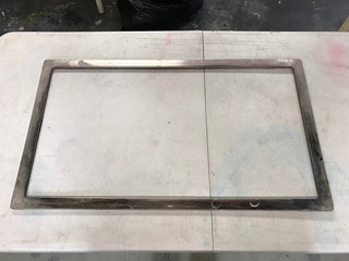 Marco De Aluminio Para Serigrafía 26 X 14