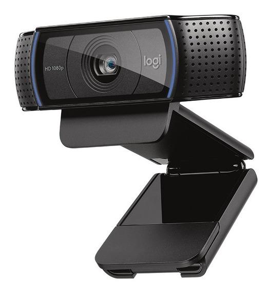 Webcam Logitech C920 Hd Pro (semi Nova Praticamente Zerada)