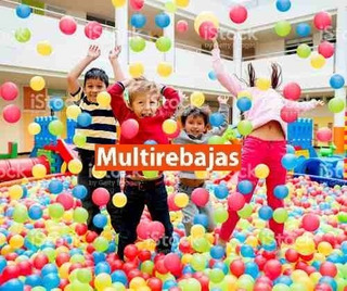 Set De Pelotas Plasticas,didacticas,piscinas,juegos 50u