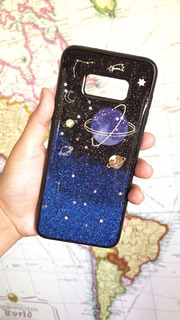 Funda Planetas, Galaxia S8+, S9, S9+, P Smat, Mate 10 Lite
