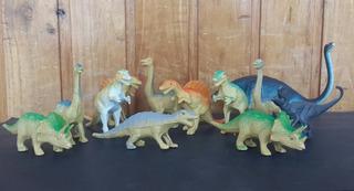 Lote X12 Dinosaurios De Plastico
