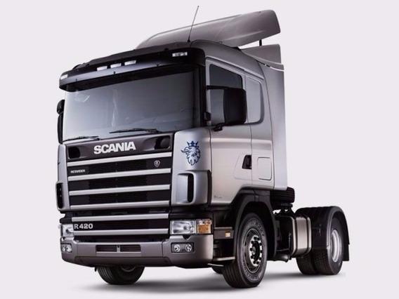 Lanterna Pisca Scania Serie 4 Lado Esquerdo