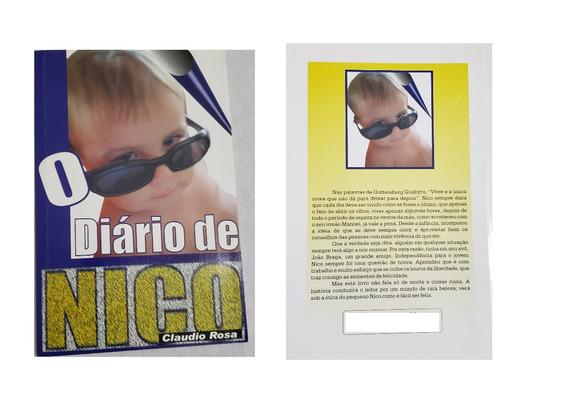 O Diário De Nico Autografado Com Dedicatória Do Autor