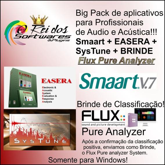 Pack Afmg Systune Easera Smaart Decibelímetro Sonometro