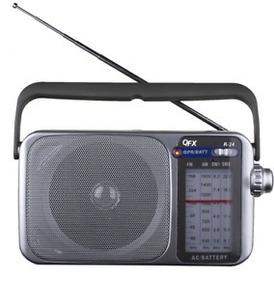 Am/fm/sw1/sw2 Rádio Portátil R-24 Qfx