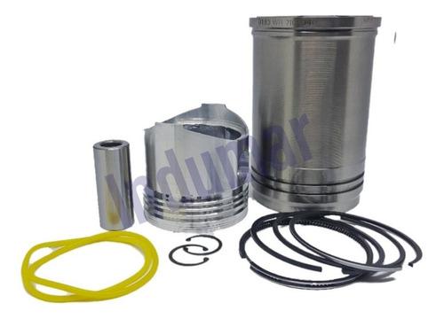Imagem 1 de 1 de Kit Do Cilindro Motor Yanmar B9 / Nb10 - Camisa,pistão,aneis