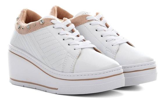 Tênis Sneaker Ramarim 1970105 Plataforma Anabela Feminino