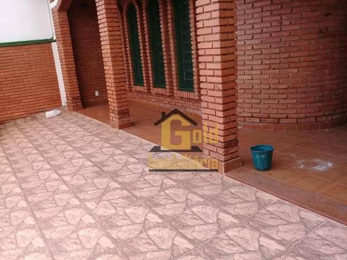 Casa Com 3 Dormitórios À Venda, 129 M² Por R$ 395.000 - Vila Monte Alegre - Ribeirão Preto/sp - Ca0955