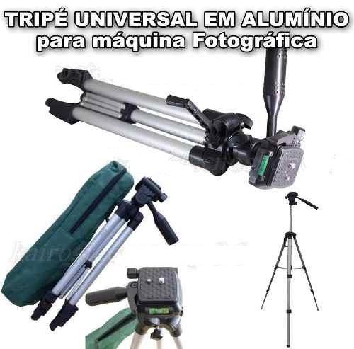 Tripé Retrátil Para Camera Celular Com Bolsa De Transporte