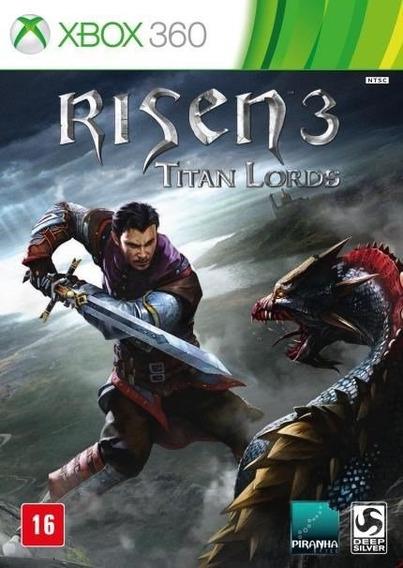 Risen 3 Titan Lords Xbox 360 Lacrado Original Mídia Física