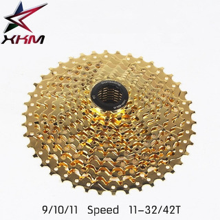 Cassete Sunshine 11-42 Para 10 Velocidades -golden