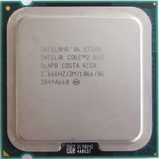 Processador Core2duo 7300 Usado.