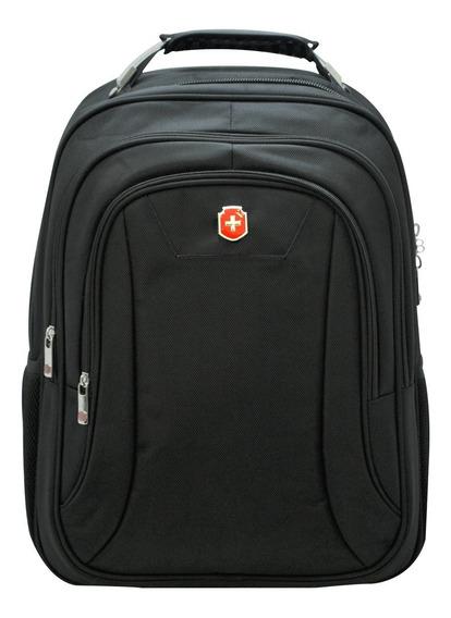 Mochila Notebook Executiva Premium Clássica Sl04005 Preto