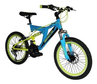 Bicicleta Benotto Drone Juvenil Mtb R20