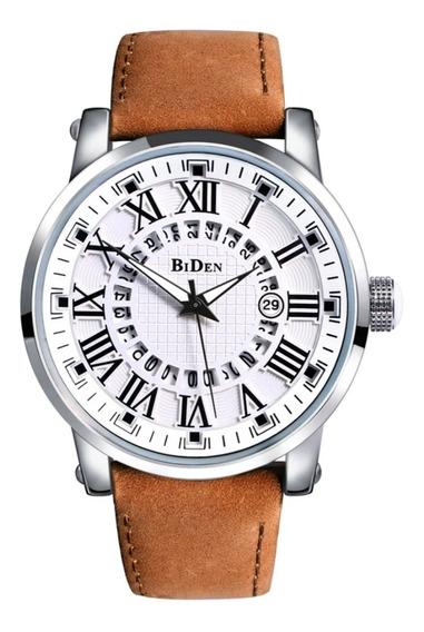 Relógio Original Biden Retro De Luxo À Prova D