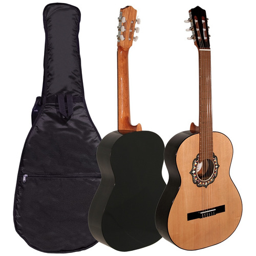 Guitarra Criolla Fonseca 25 Con Funda - Cuotas