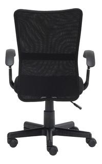Cadeira de escritório Trevalla CDE-33-1 preta