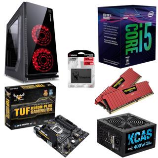 Pc Crater Intel I5 8400 B360m Plus Vg 16gb Kc400 Ssd 120gb